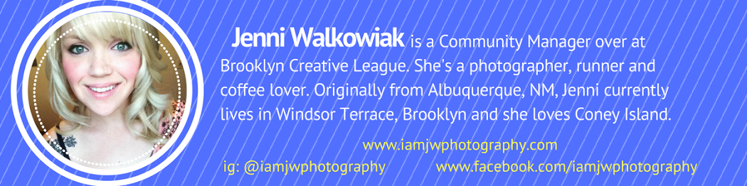 Jenni Walkowiak is one of Brooklyn Creative League's community managers (1).png