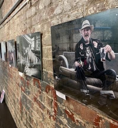 Deb's photo of Dirk on the 3rd floor