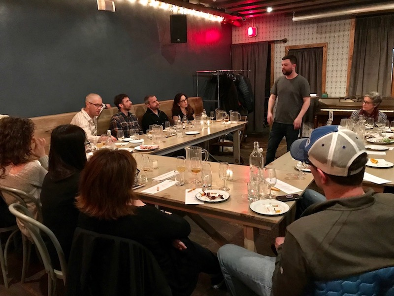 Beer Tasting - Just a few blocks away from BCL is Threes Brewing, a Brooklyn-based brewery with a tap-room and event-space right here in Gowanus. A group of members attended a private beer tasting, selecting from pale ales, IPAs, pilsners and more.