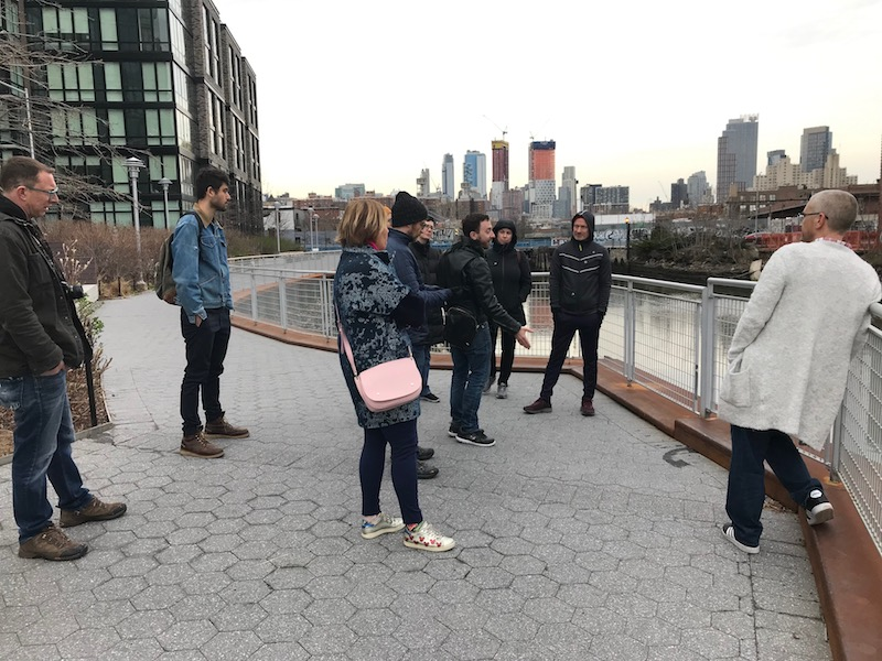 Gowanus Walking Tour - Author and journalist, Joseph Alexiou, led a Historical Walking Tour of Gowanus for those who were interested. As a tour guide for Brooklyn Brainery, Alexiou is a lover of history with a passion for Gowanus, who wrote the book: Gowanus: Brooklyn's Curious Canal.