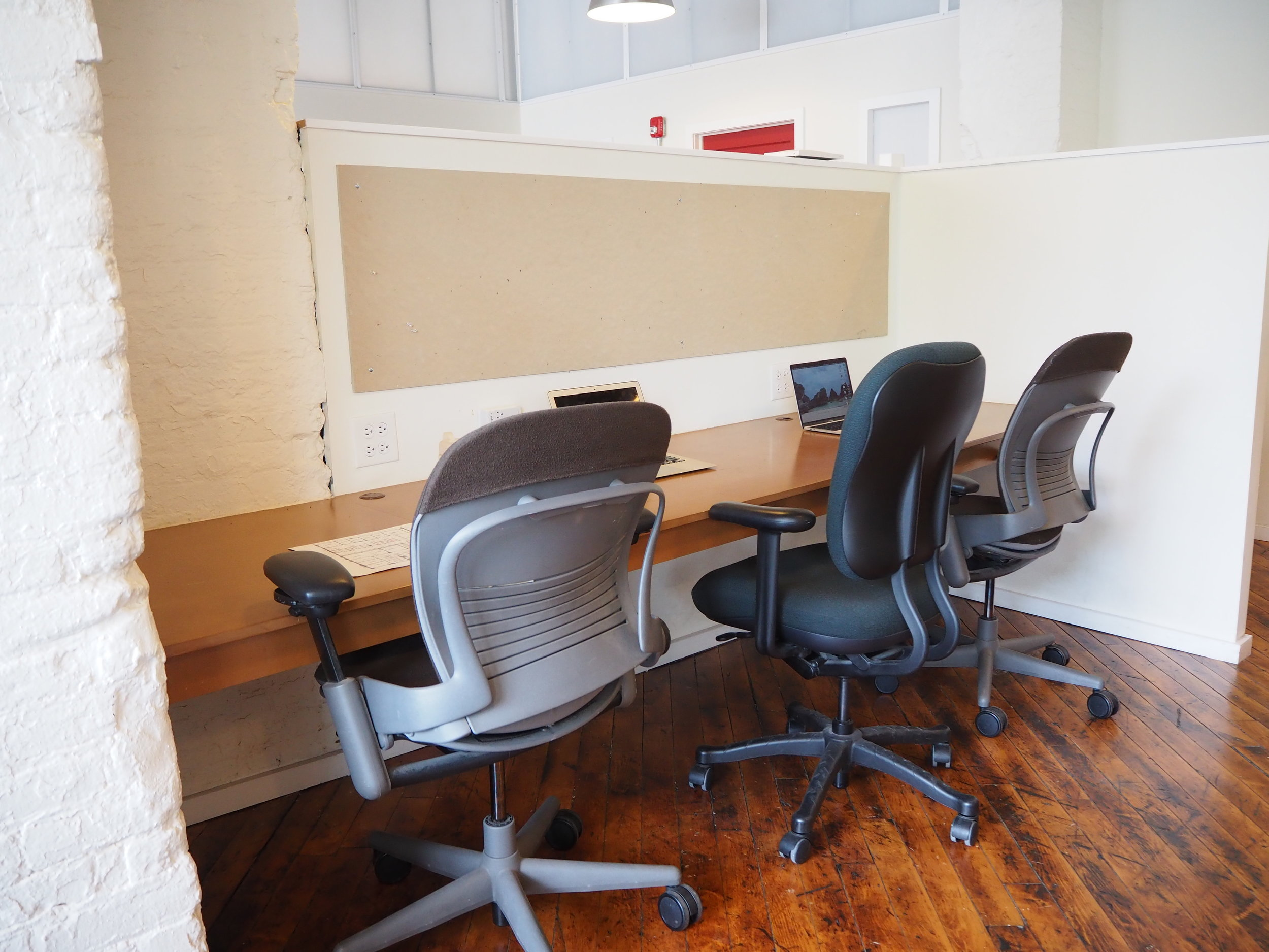 Grow your team with a 9ft desk
