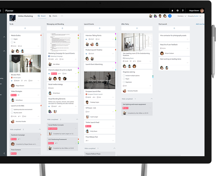 Quick easy planning in a visually intuitive way - Microsoft Planner