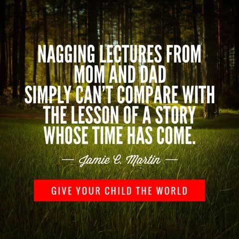 Giving children an appetite for great stories helps all of us to engage in thoughts beyond our own realm, and increases our wisdom for life.