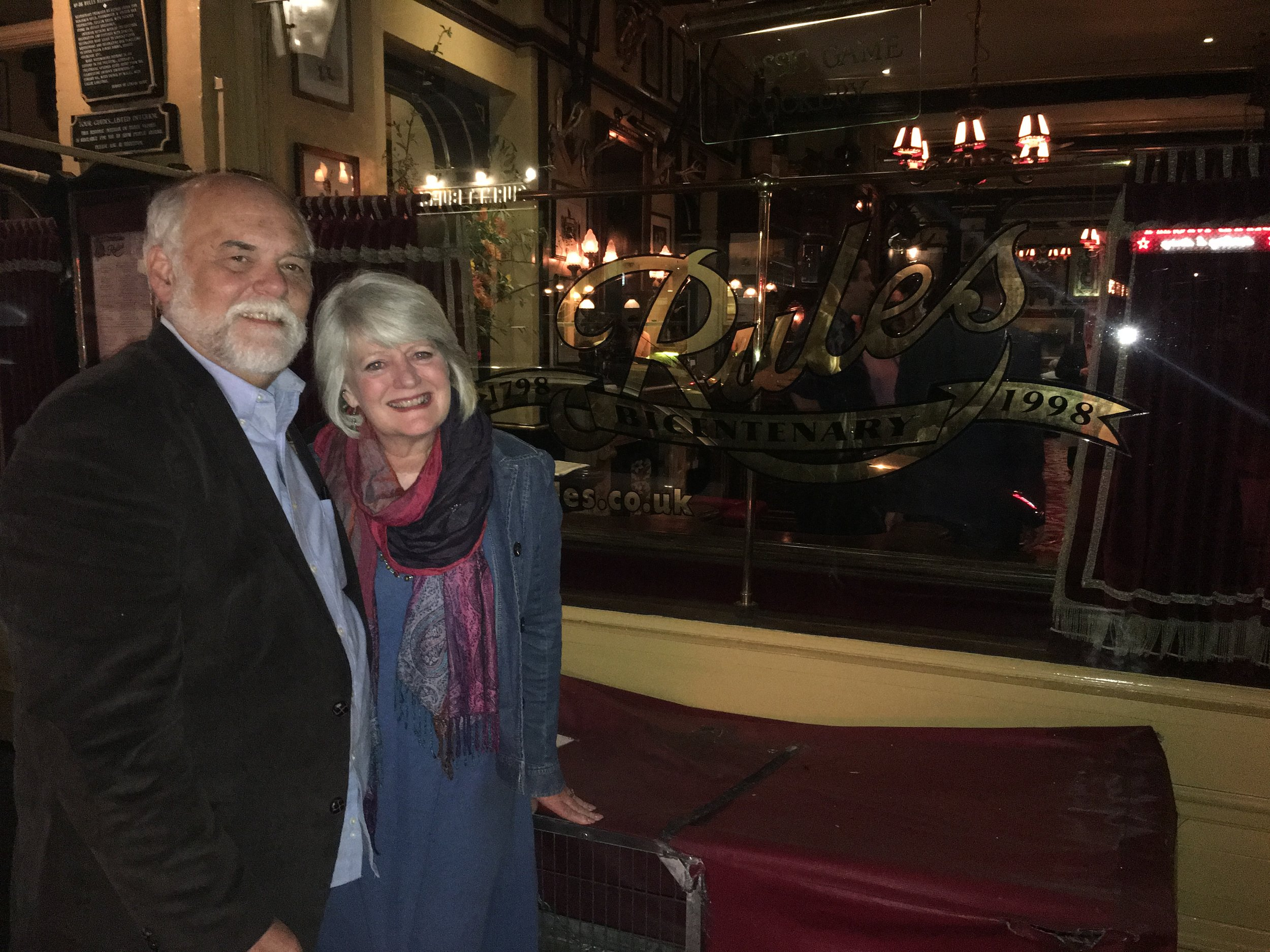 We recently celebrated our 35th wedding anniversary! Can't believe we have passed that many years together!