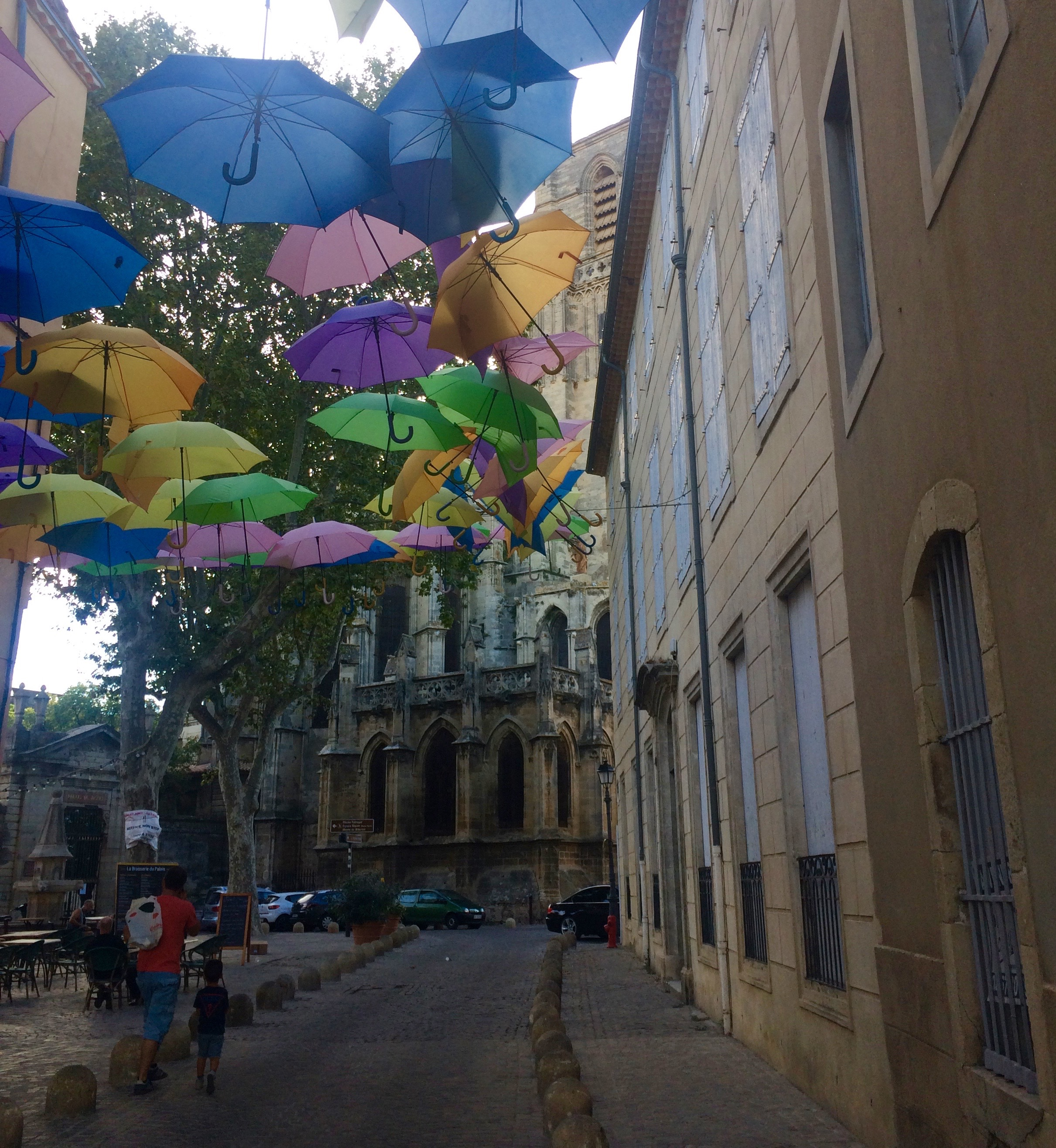 Bezier, France,where the pace is slower to compensate for the heat and to give life a personal touch.