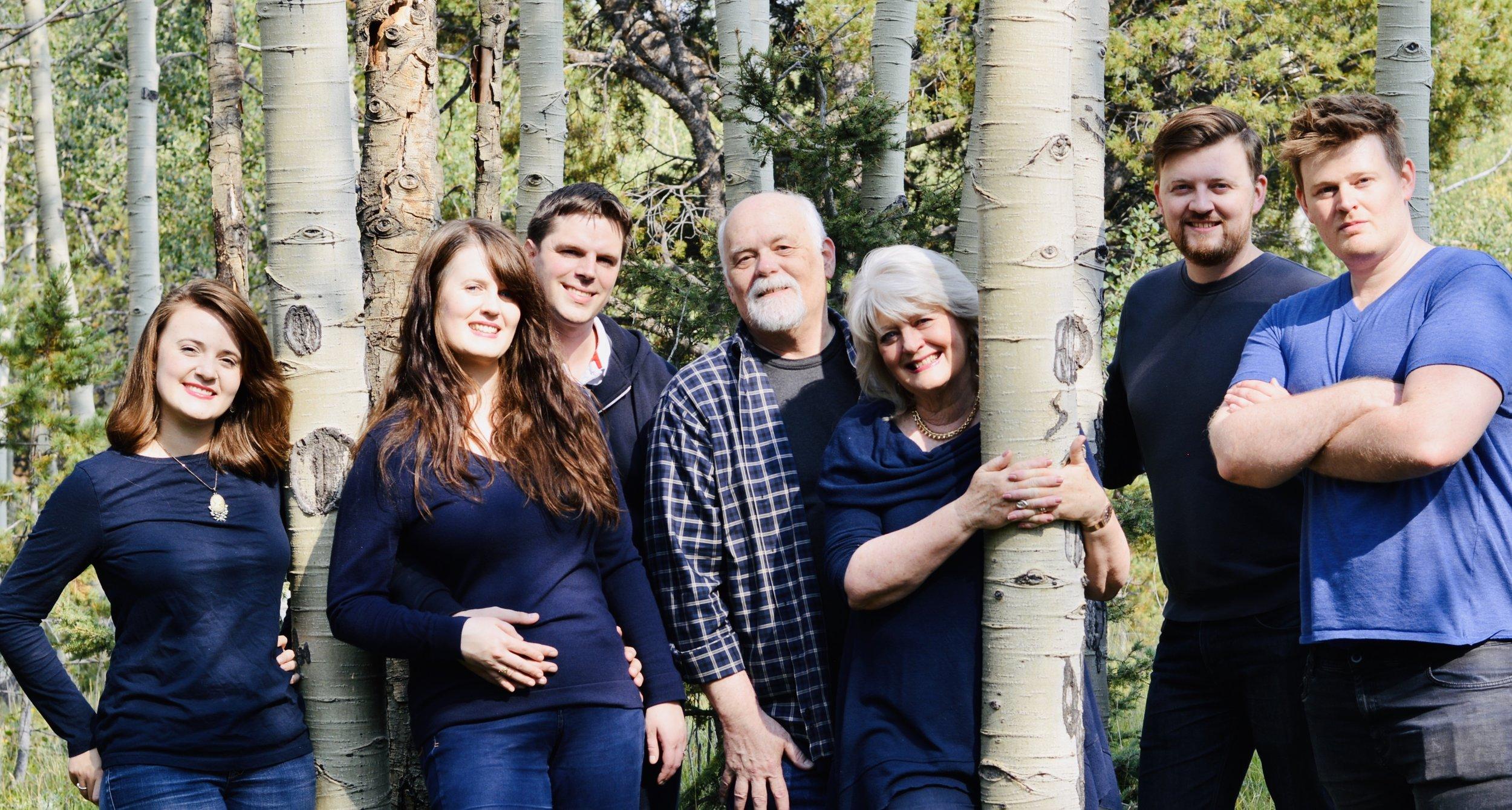 Family Day, A Couple of Years ago! Joy, Sarah, Thomas, Clay, me, Joel, Nathan