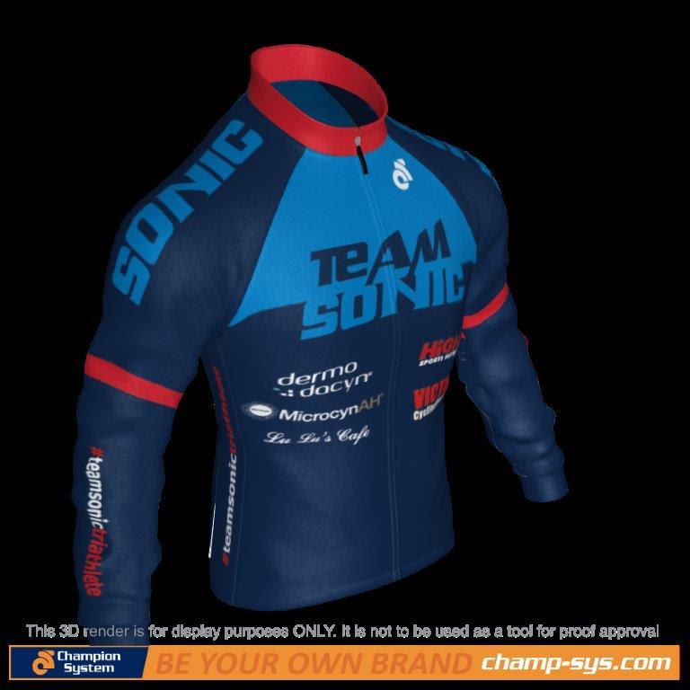 Tech-fleece cycling jacket $720
