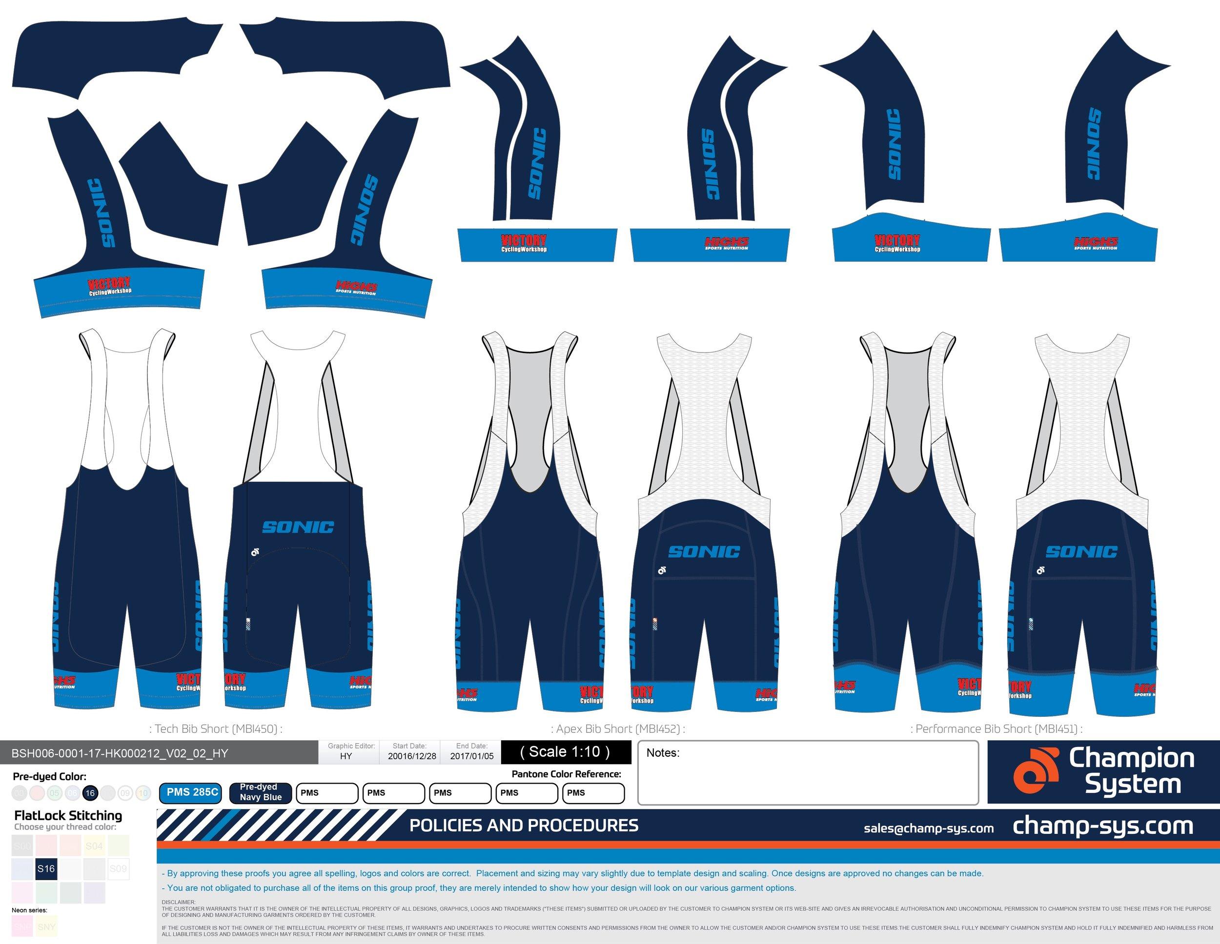 Cycling bib-shorts $520