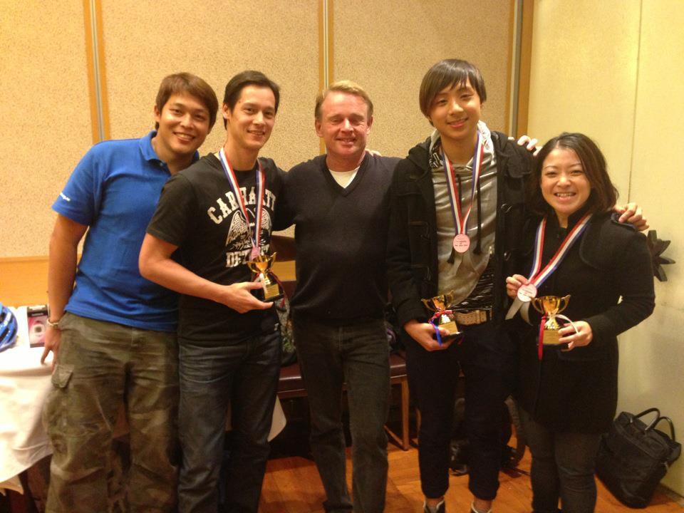 Triathlete of the year 2012 - Sacha Cheong, Michael Lam, Gigi Wong