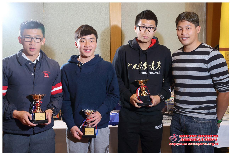 Time Trial Series award 2013 juniors
