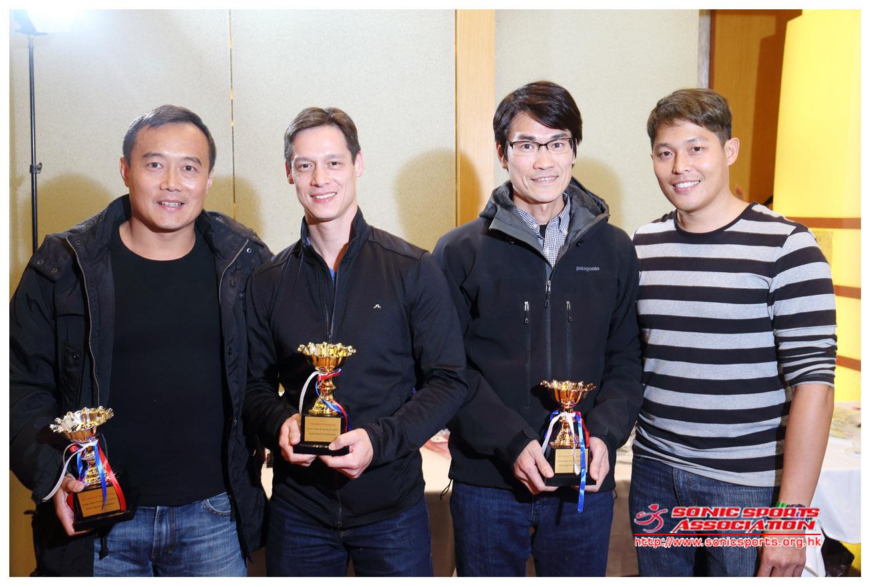 Time Trial series award 2013 men