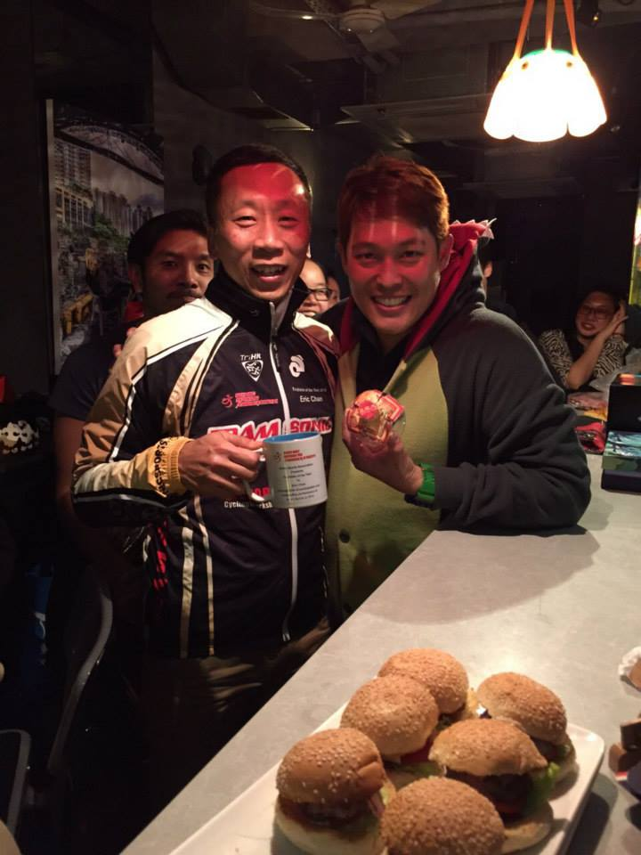 Triathlete of the year 2014 - Eric Chan