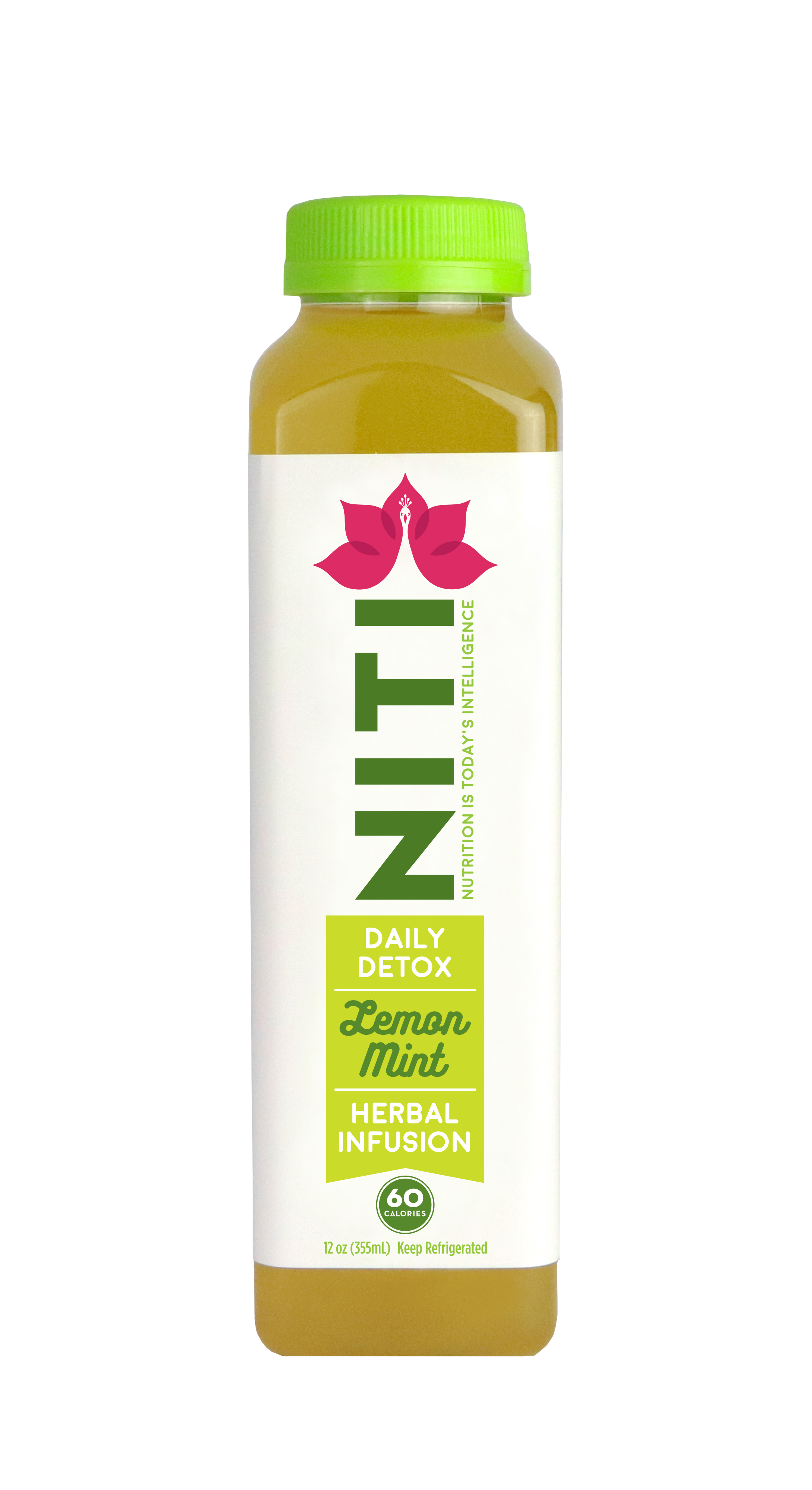 Niti's Lemon Mint Daily Detox - An herbal infusion of natural liver detoxifying ingredients designed to restore the liver and purify the body.