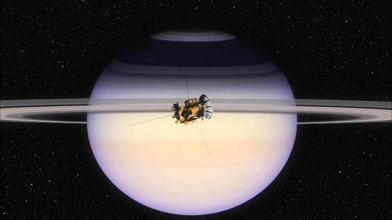 Cassini's Arrival At Saturn  NASA JPL 2004