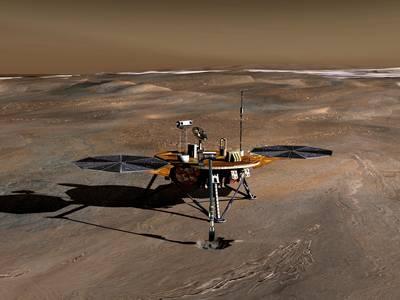 Phoenix Lander  NASA 2007