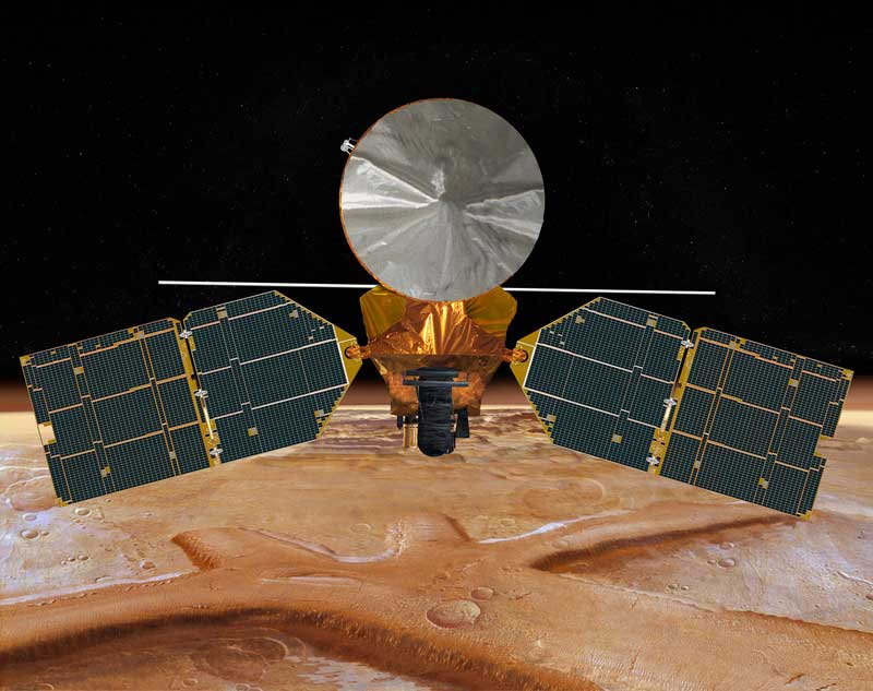 Artist's Concept of the MRO  NASA/JPL