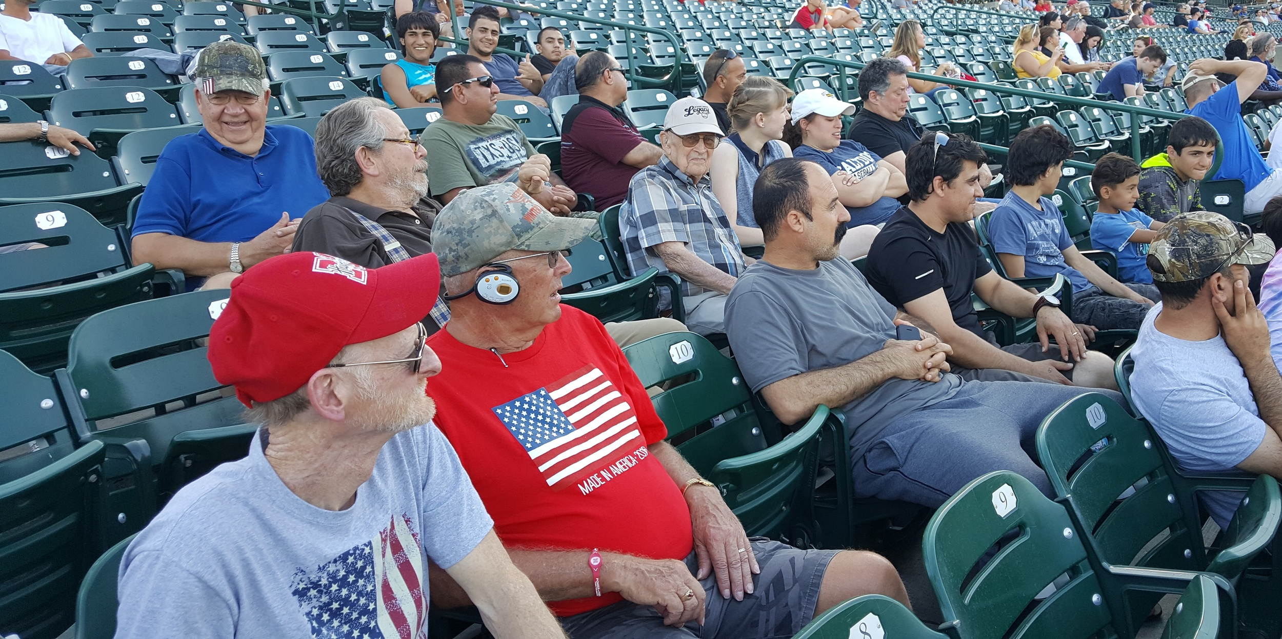 Saltdogs Baseball game with the Yazidi men