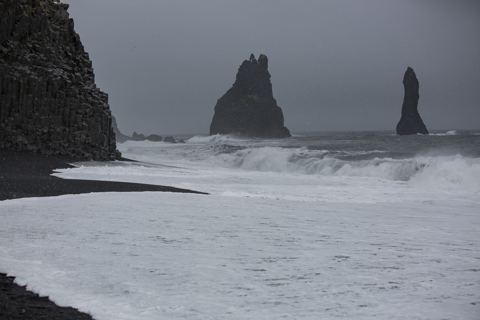 Reynisfjara, the black sand beach