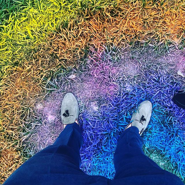 I have this thing with grass 🌱🌱🌈