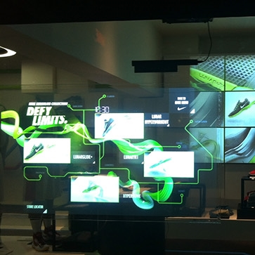 Interactive Store    Nike    Details