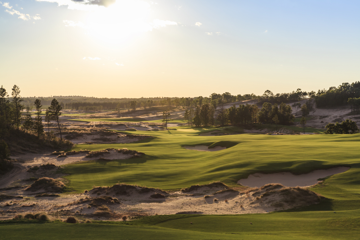 Sand Valley's 10th Hole