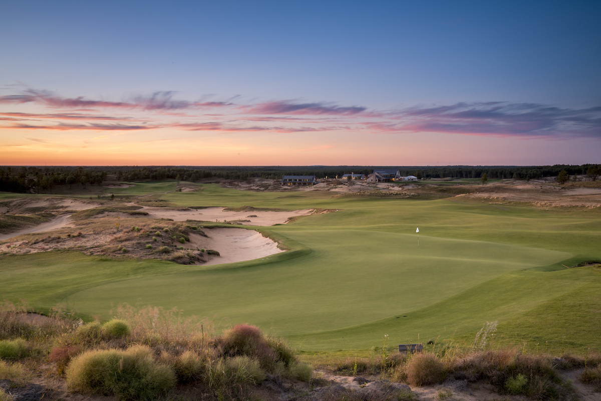 Sand Valley's 18th Green