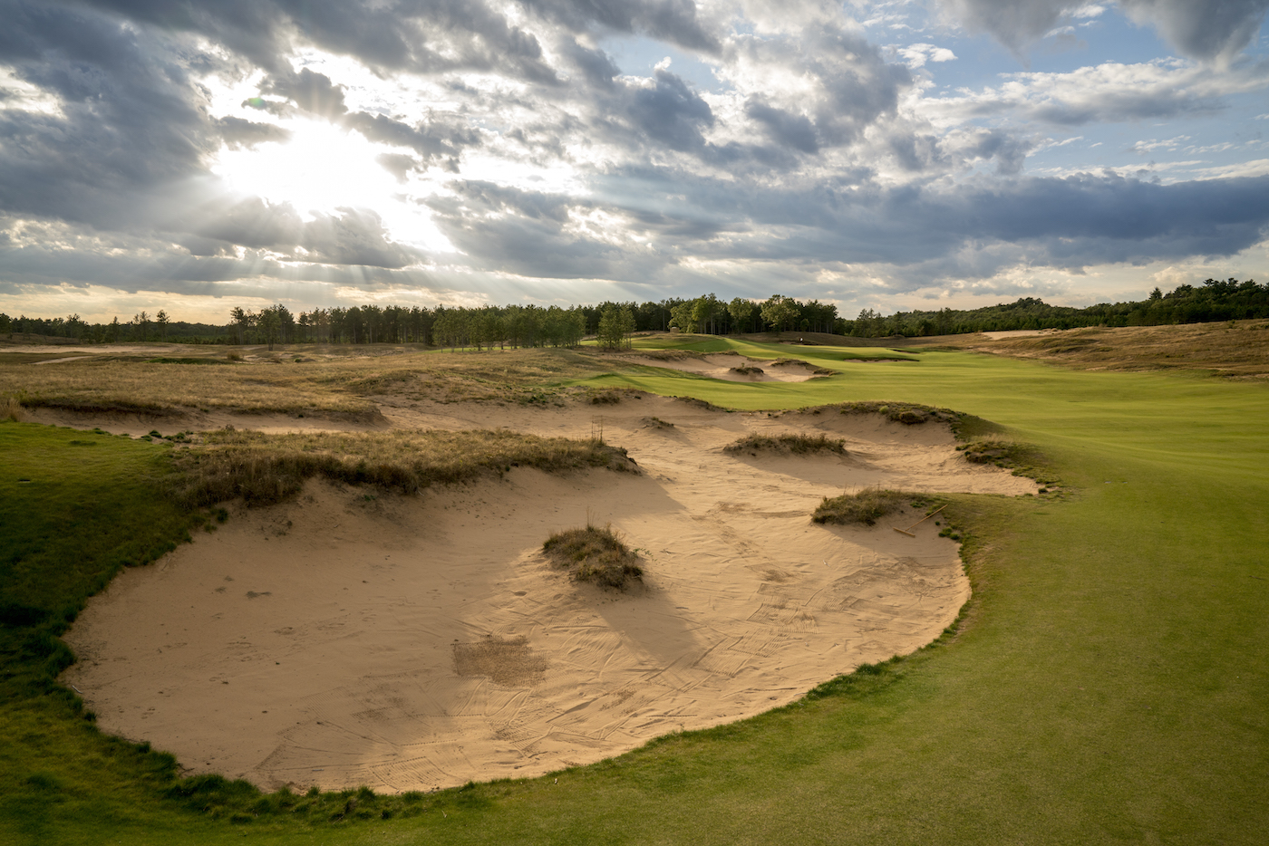 Sand Valley's 12th Hole