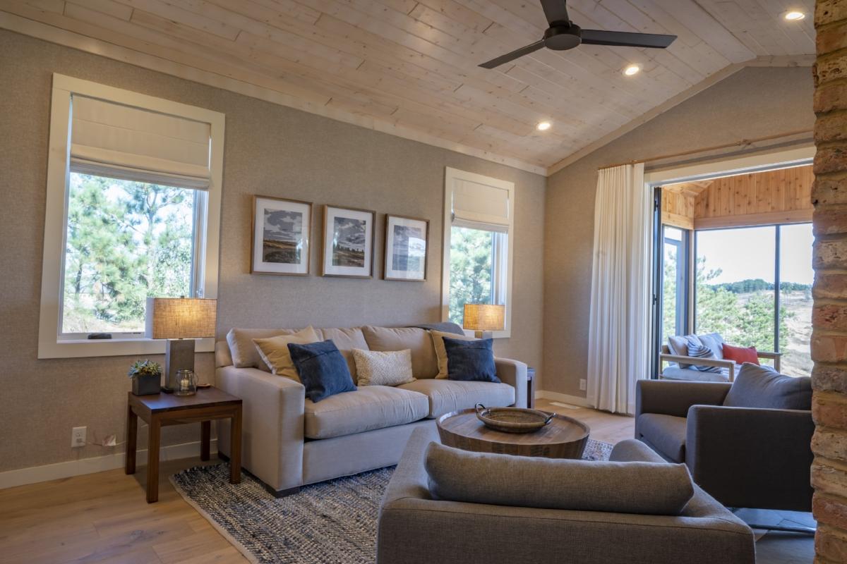 Crenshaw Cabin Living Room Suite