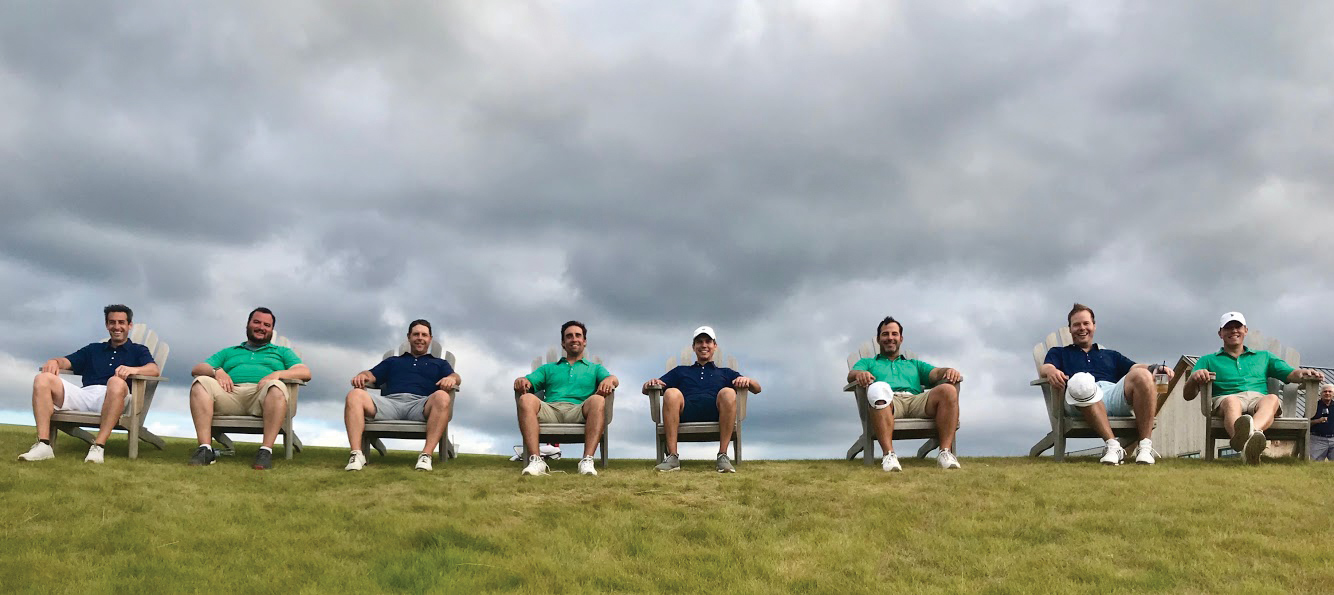 Sand Valley with a group of friends, teammates or family is an experience of a lifetime.