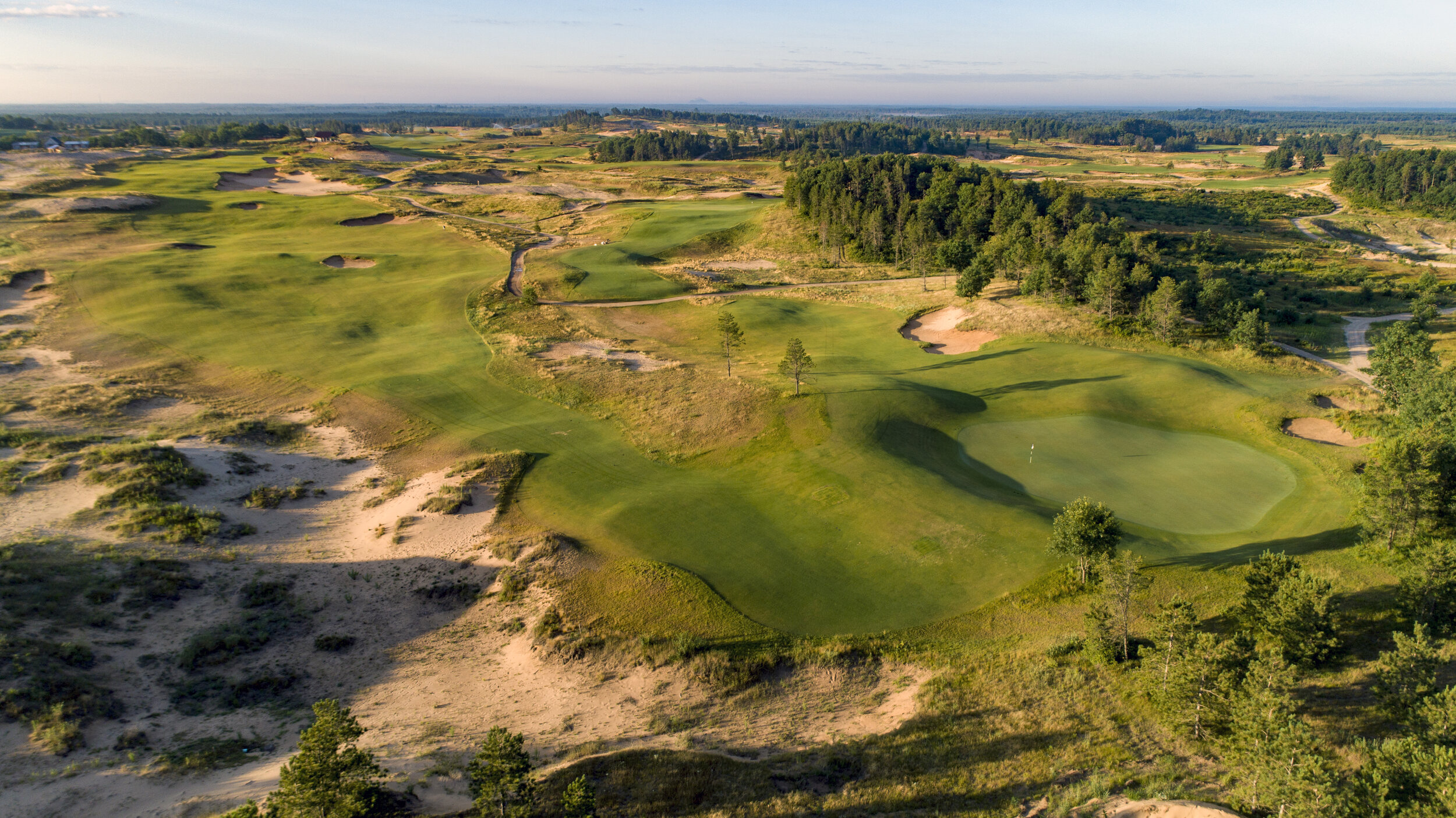 Sand Valley Holes #17 and #18