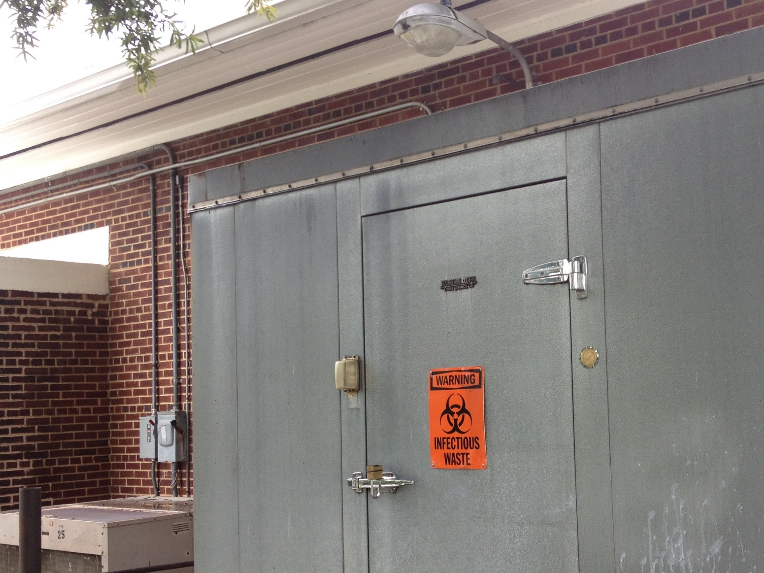 Door to the University of South Carolina Environmental Health and Safety Building - Columbia, SC