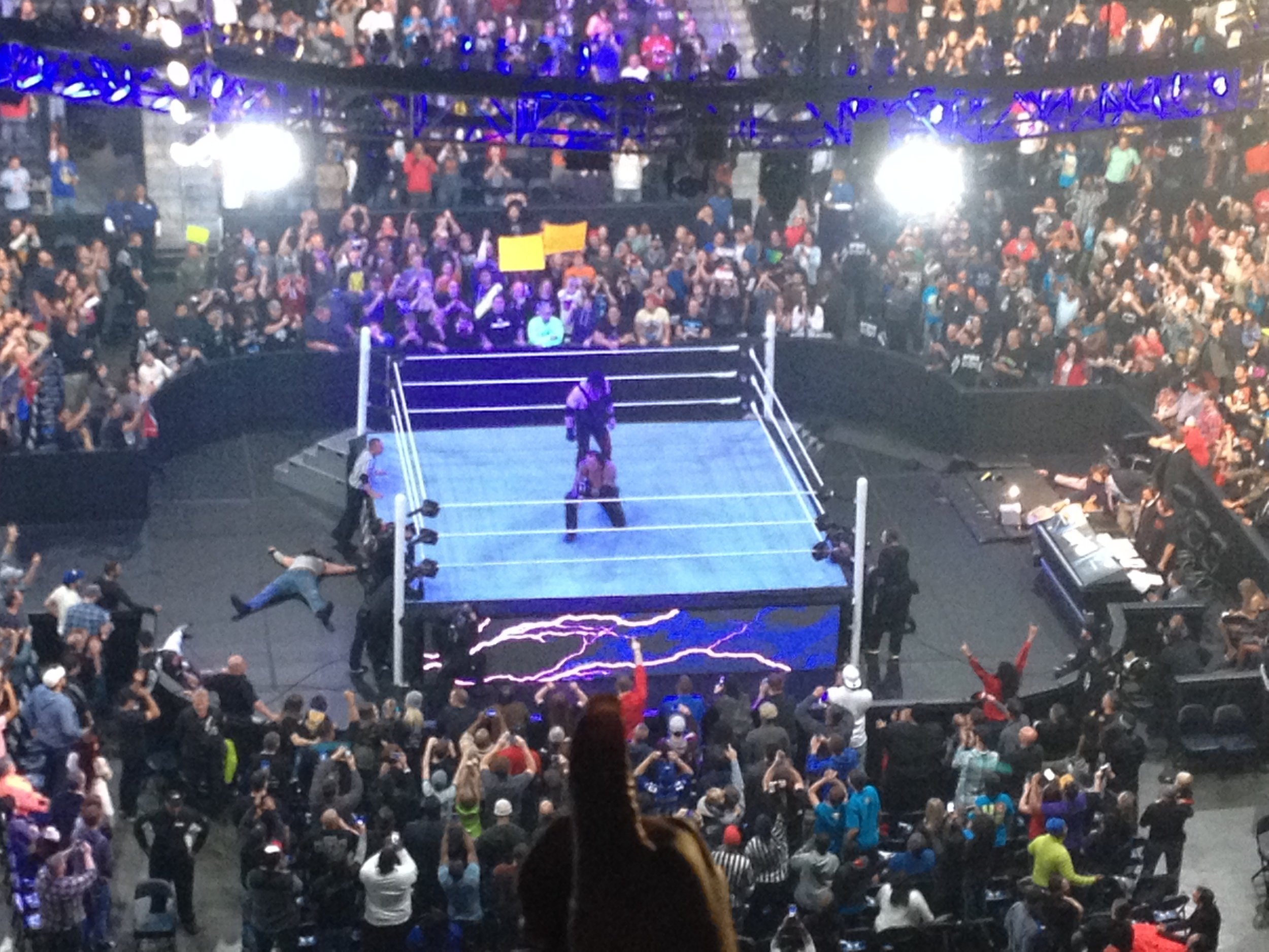 Kane & The Undertaker vs. The Wyatt Family - Survivor Series 2015 - Atlanta, GA