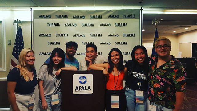 Thank you APALA for inviting us to the convention. Day 1 is now over, but looking forward to tomorrow to organize and build solidarity with AANHPIs throughout!! ✊✊✊ #apalarising