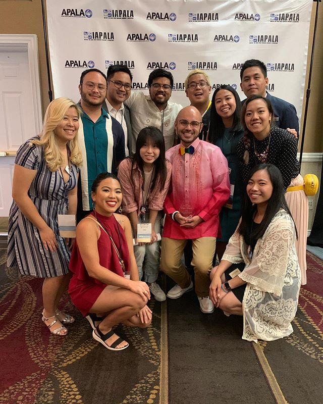 Congratulations to @gregorycendana for being the first recipient of the Tam Tran Freedom Fighter Award at last night's APALA Gala. Thank you for your commitment to fighting for the undocumented community and creating space for undocuAPIs to be heard. Tam Tran's fighting spirit lives through you ✊ #cantstopwontstop
