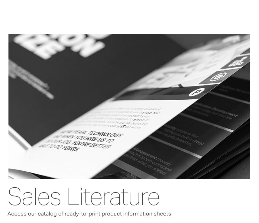 Sales Literature
