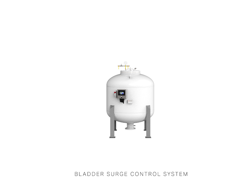 Bladder Surge Control System