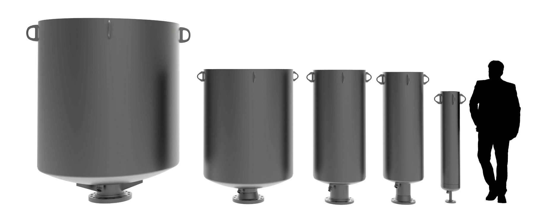 Blowdown Vent Silencer Size Comparison Compressed.png