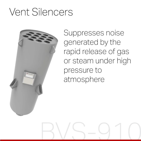 PULSCO Vent Silencers