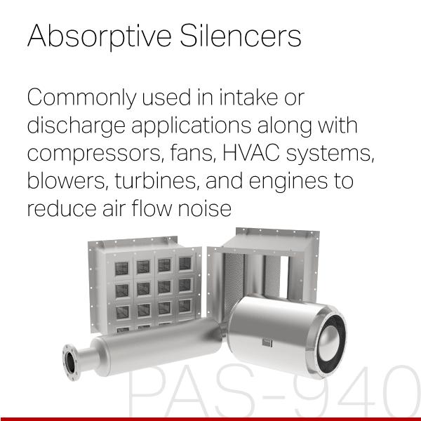 PULSCO Absorptive Silencers