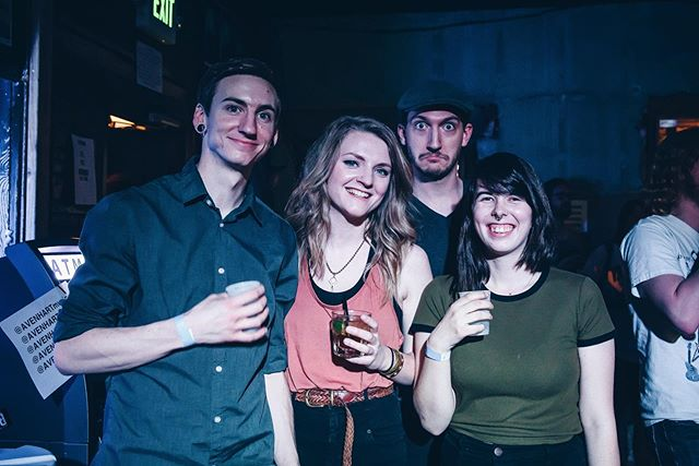 Throwing to it back to our first ever show as a four-piece! Come see us back at @lostlakedenver three years later. ♥️ Get tickets for 8/29 through the link in our bio or Venmo $12 to @ kinesics! 📸 Rob King