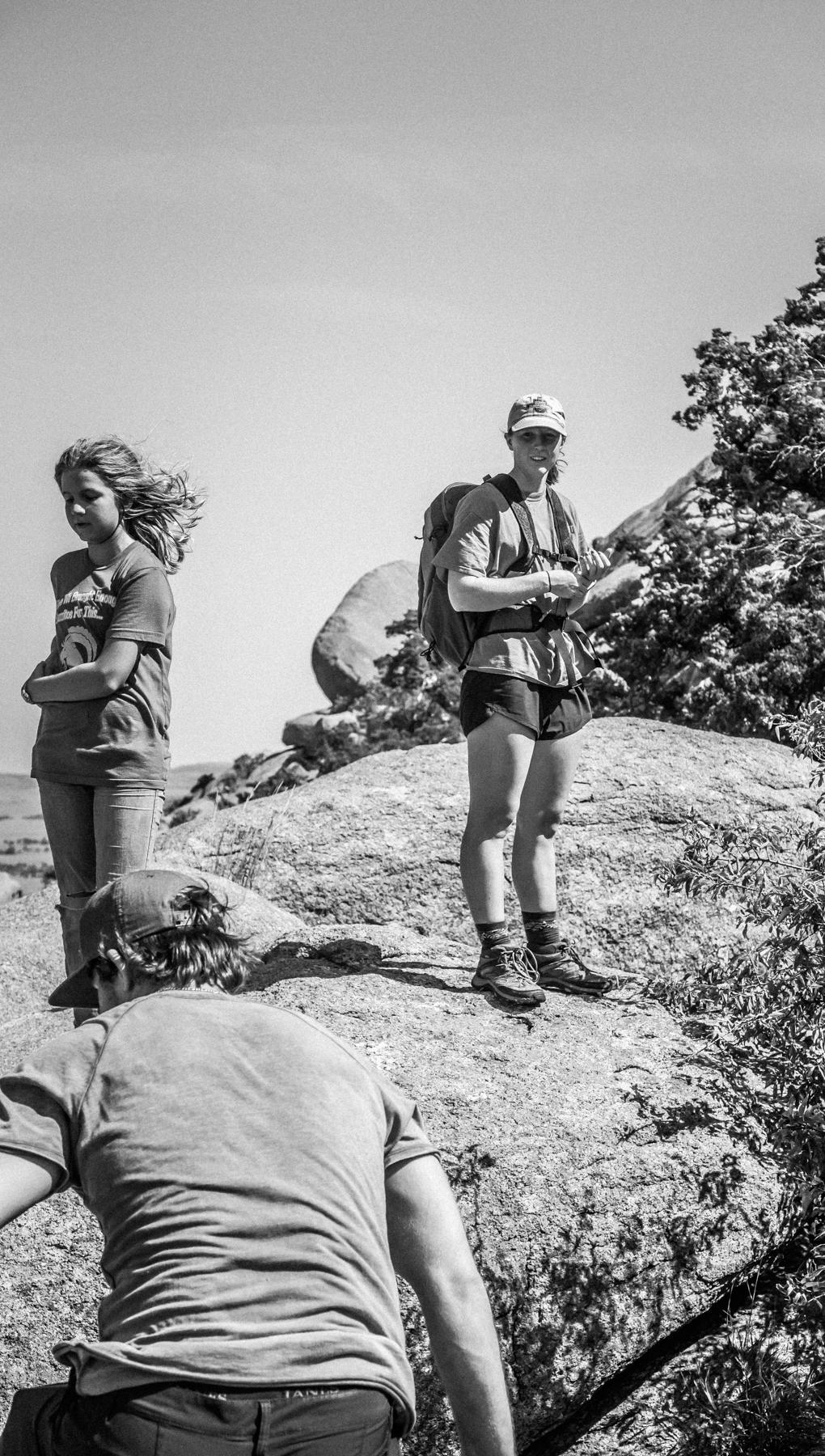 Glass Mountain Peak to Apple & Pear -