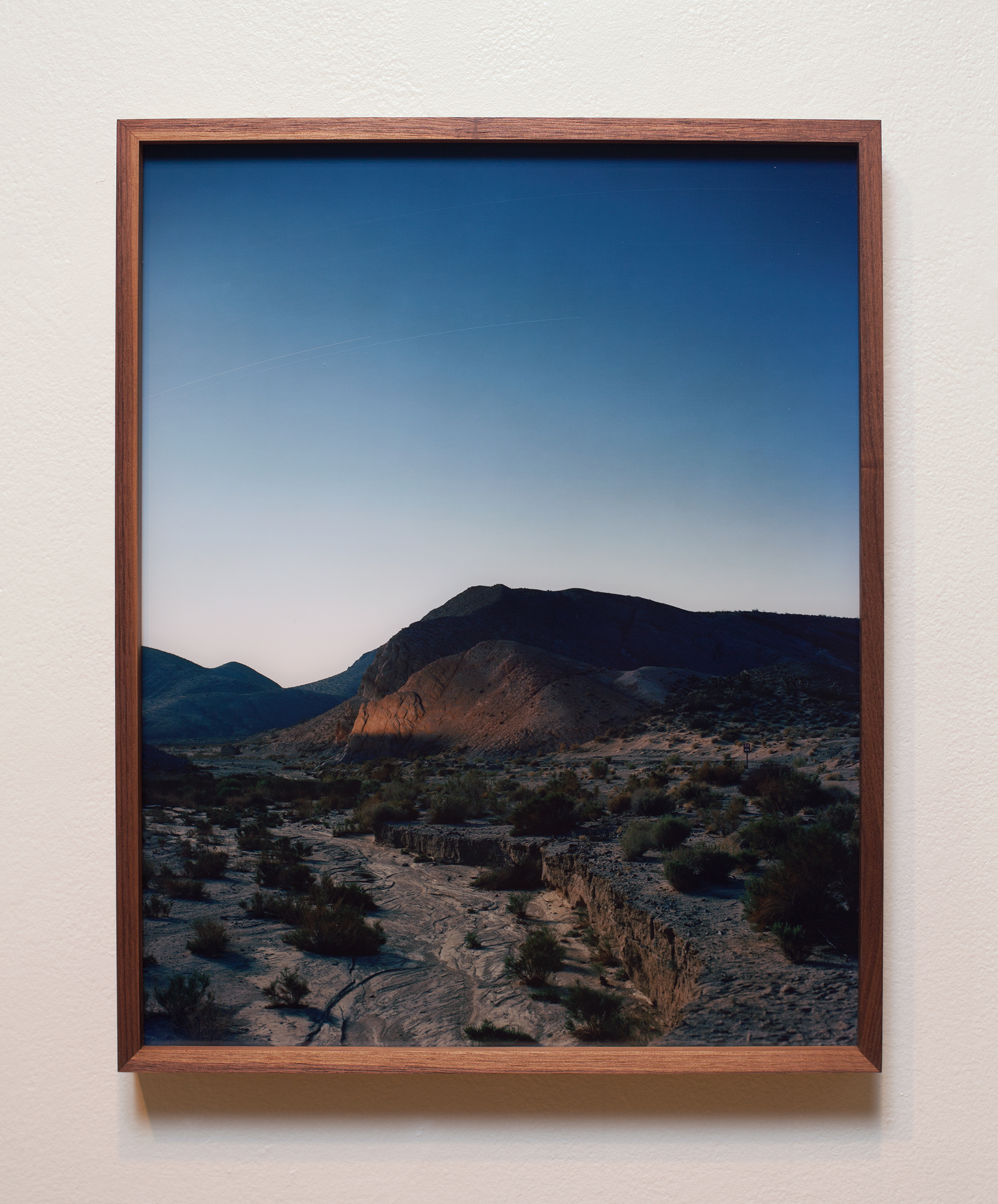Accumulation 09 2016 (2013 - ongoing) chromogenic print face mounted to Optium acrylic and walnut frame