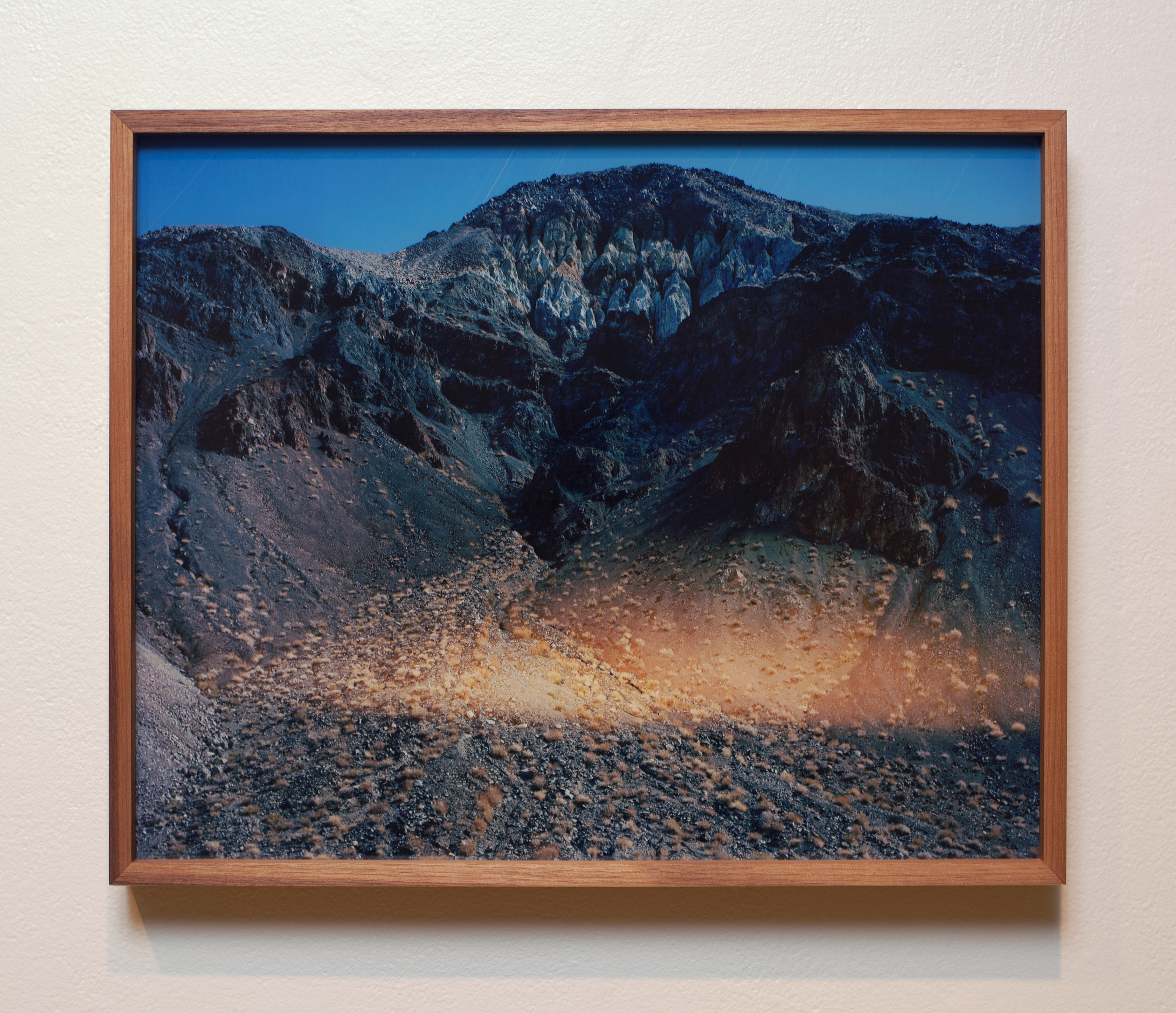 Accumulation 06 2015 (2013 - ongoing) chromogenic print face mounted to Optium acrylic and walnut frame