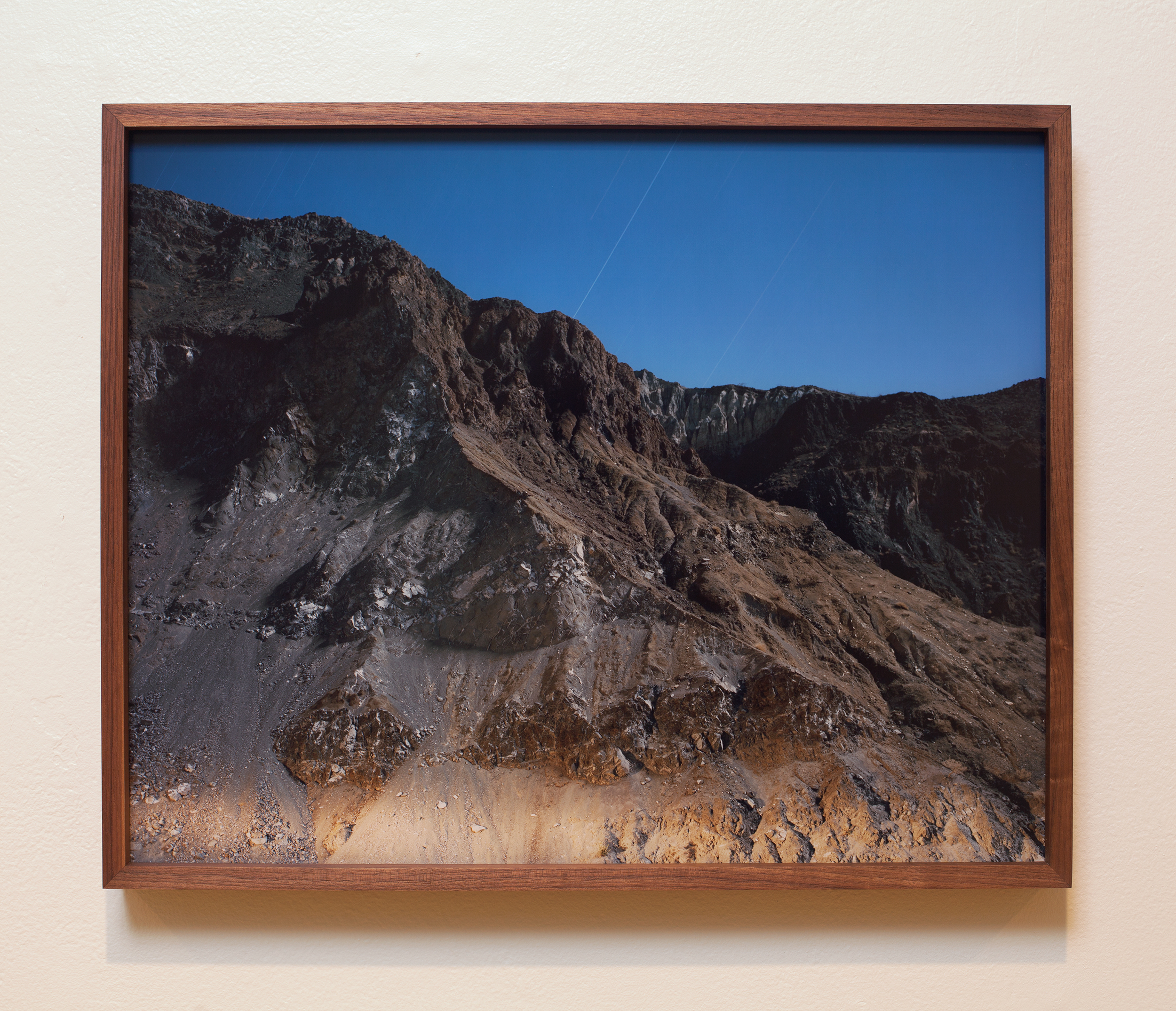 Accumulation 04 2014 (2013 - ongoing) chromogenic print face mounted to Optium acrylic and walnut frame