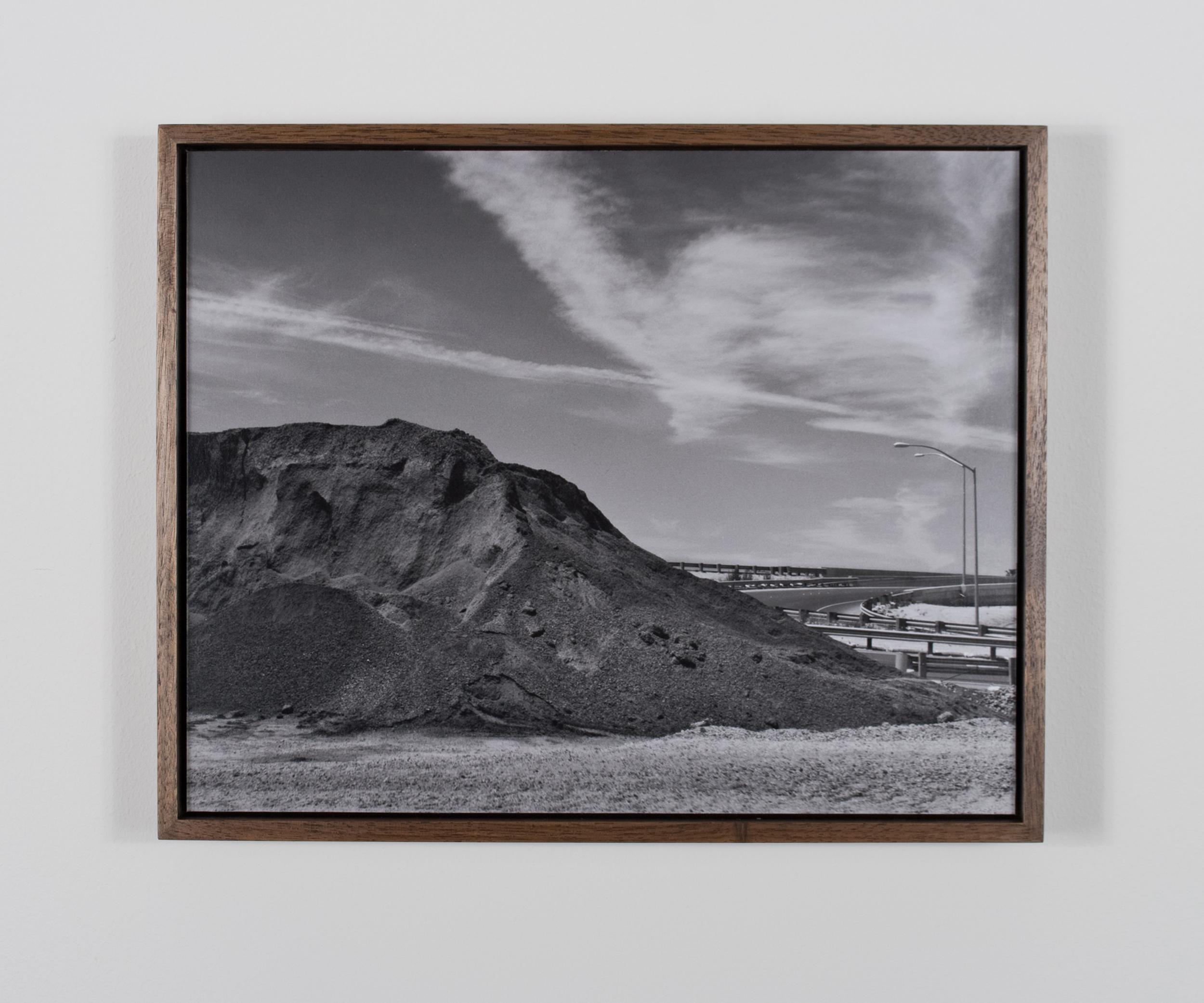 Mount Aorta 2009/10 Gelatin-silver print on Dibond, with walnut frame