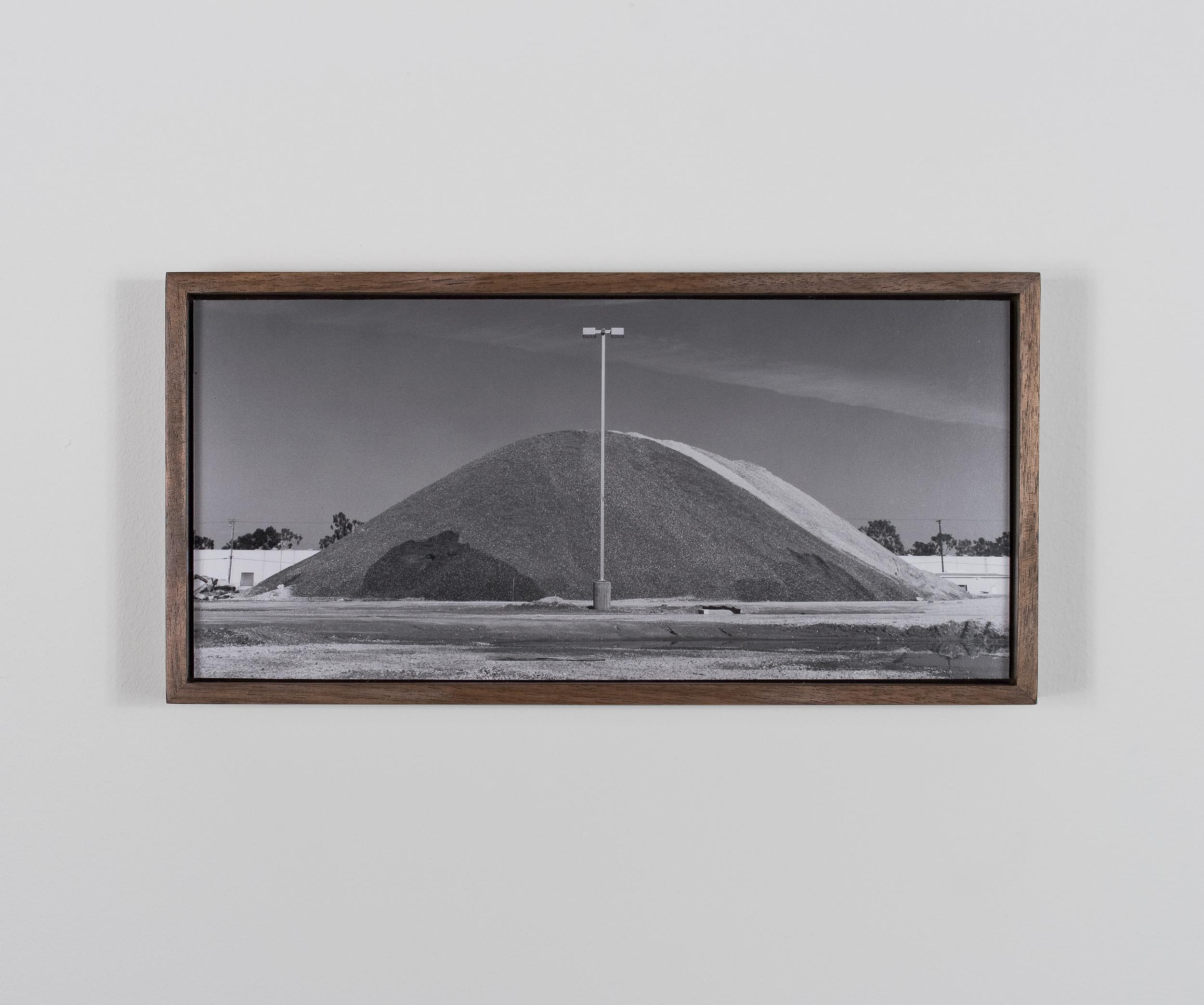 Mount Helion 2009/10 Gelatin-silver print on Dibond, with walnut frame