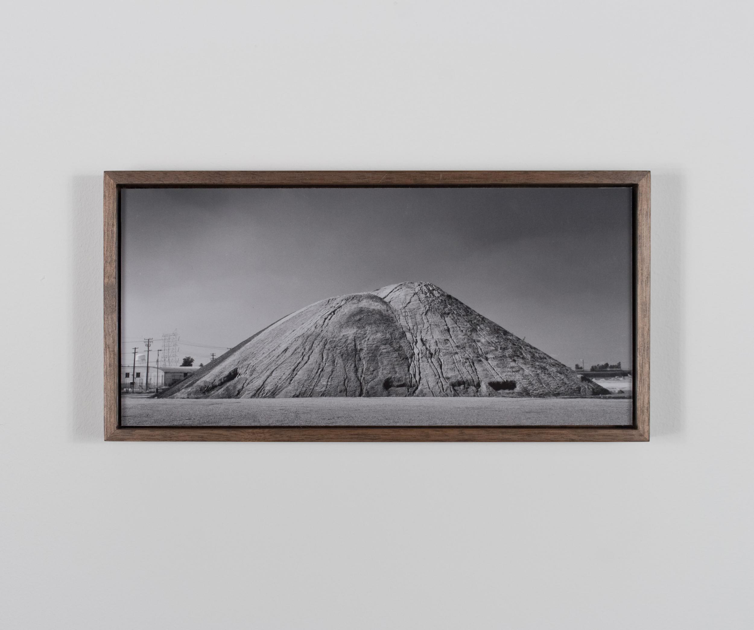 Suture Mountain 2009/10 Gelatin-silver print on Dibond, with walnut frame
