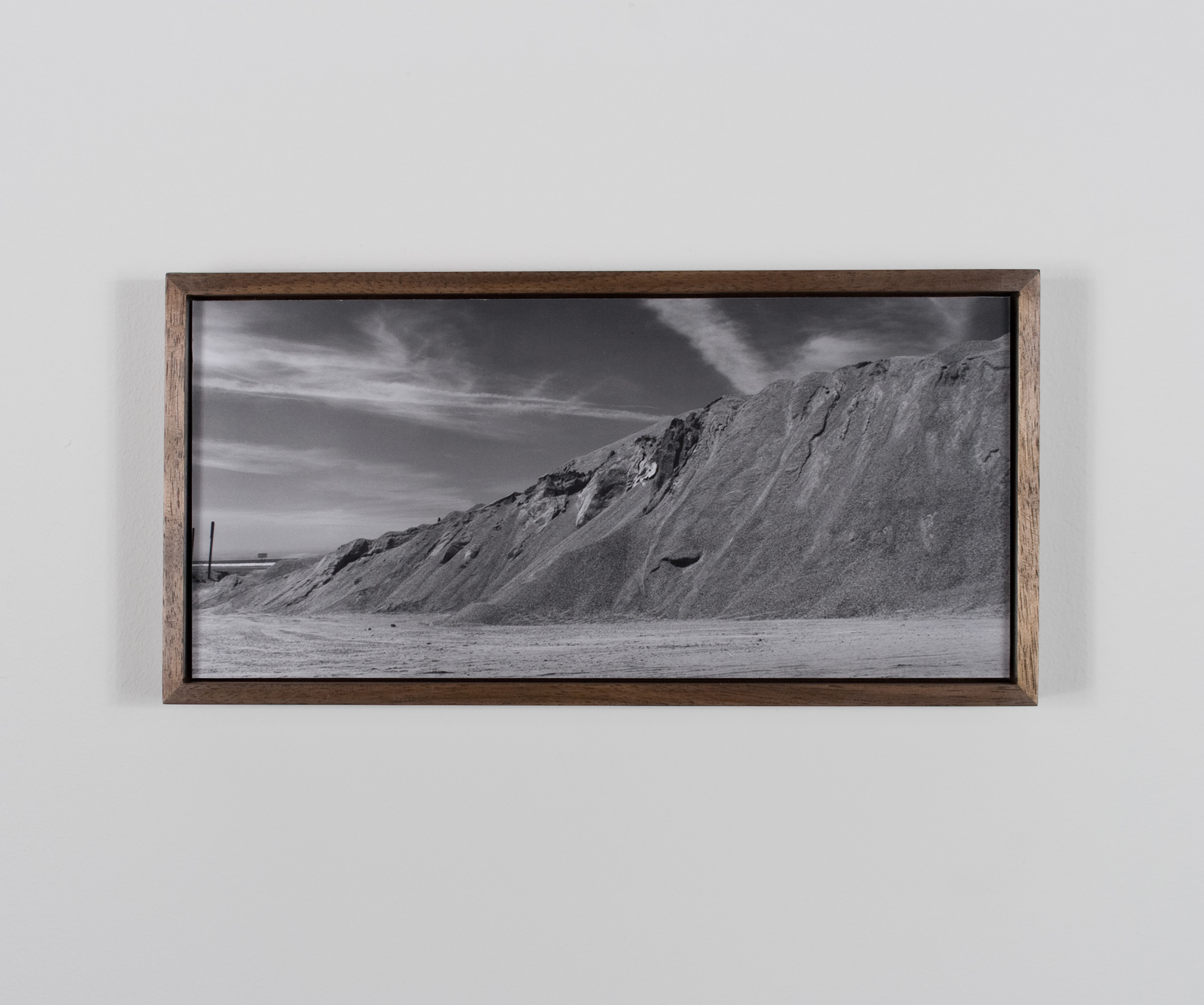 Clavicle Mountain 2009/10 Gelatin-silver print on Dibond, with walnut frame
