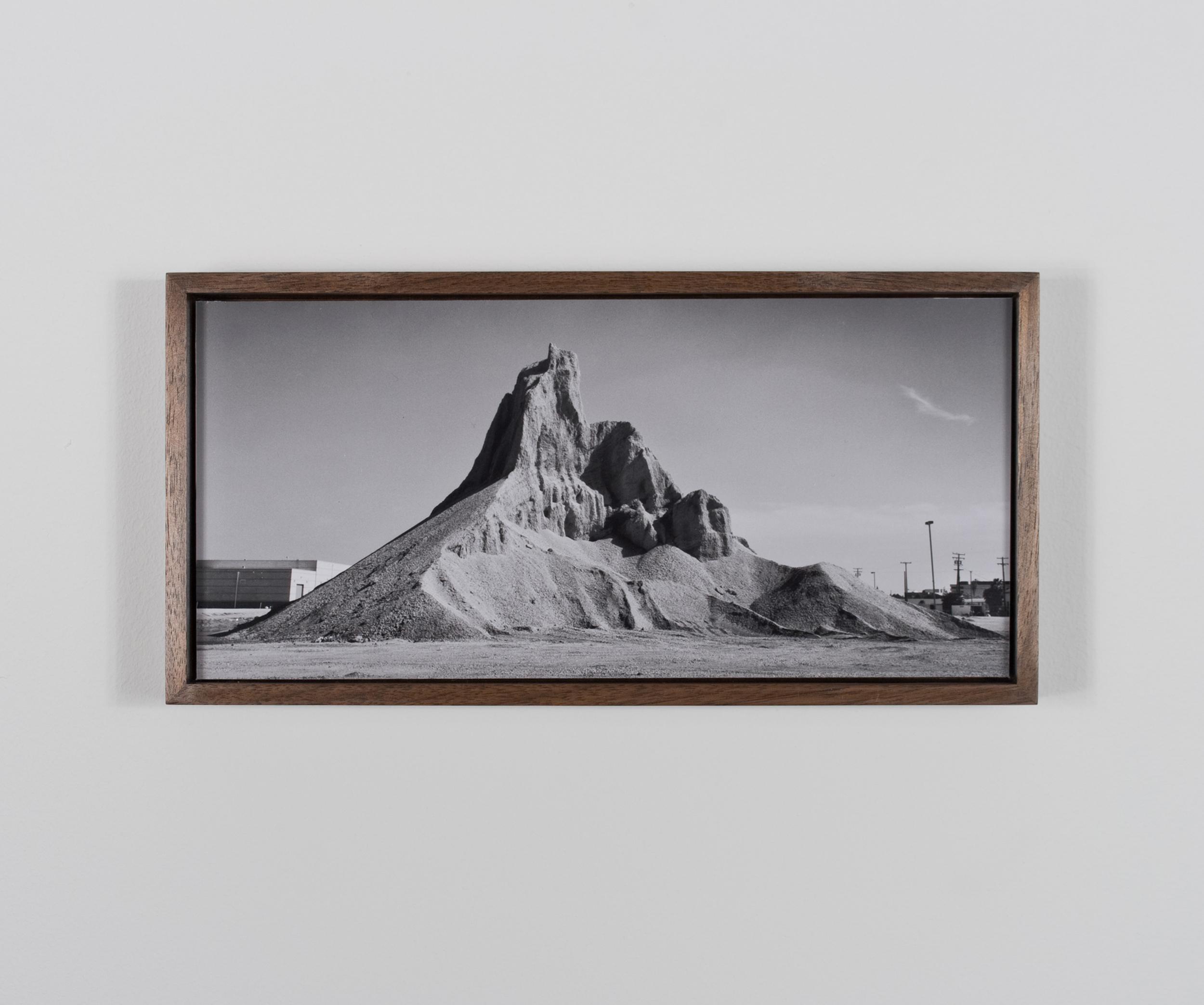 Widows Peak 2009/10 Gelatin-silver print on Dibond, with walnut frame