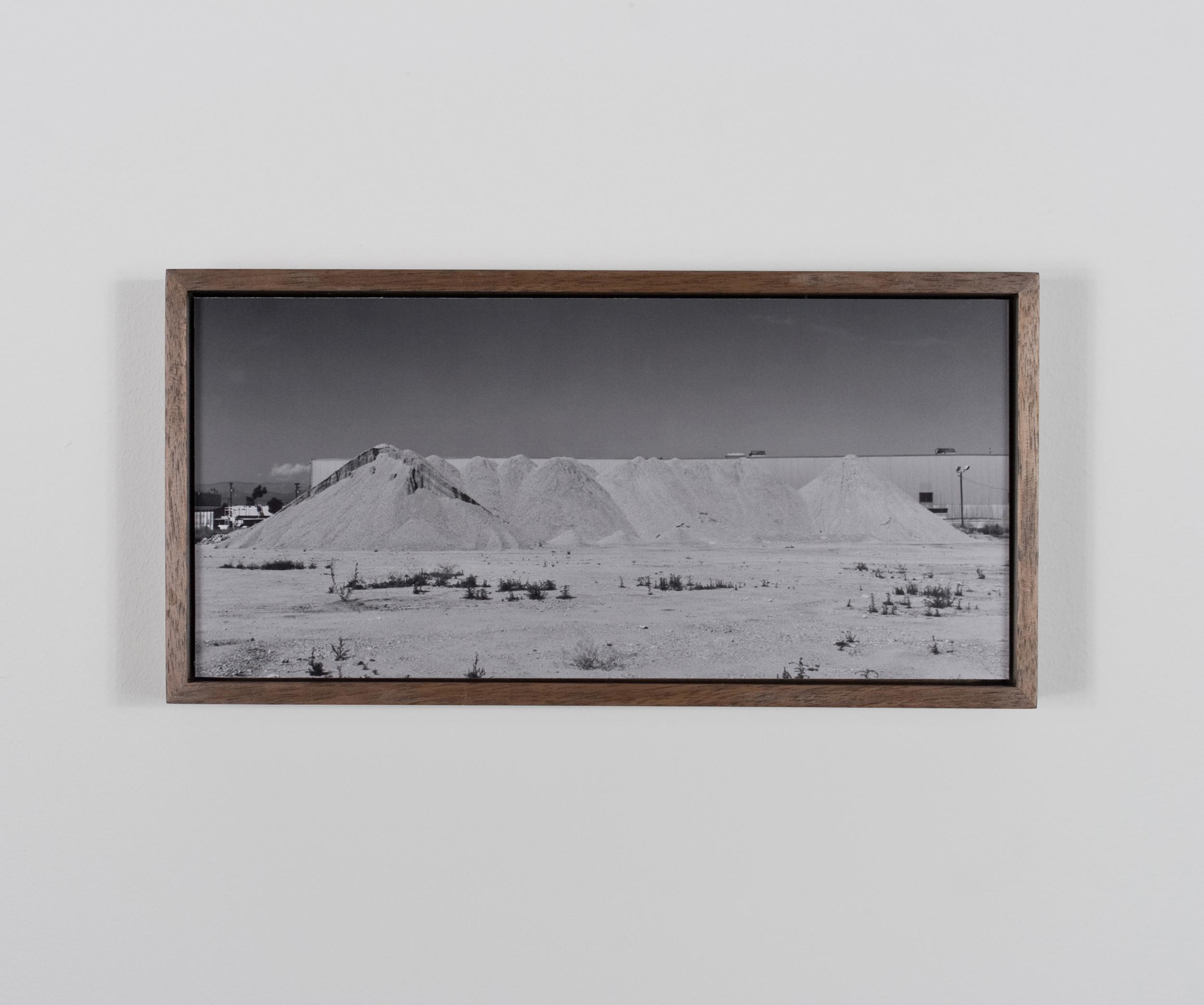 Telegraph Range (Sierra Telégrafo) 2009/10 Gelatin-silver print on Dibond, with walnut frame